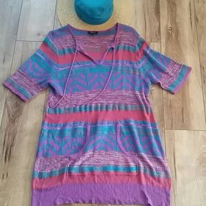 Eye catching!🌺 Lite SWEATER DRESS TUNIC